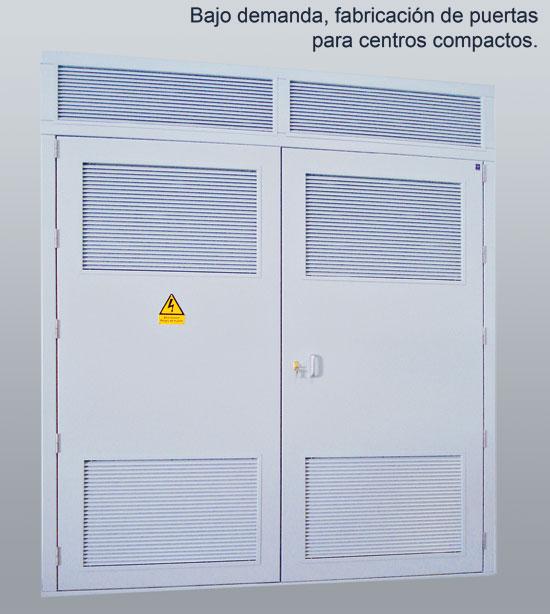 Puertas metalicas para centros de transformacion - Puertas de exterior metalicas ...