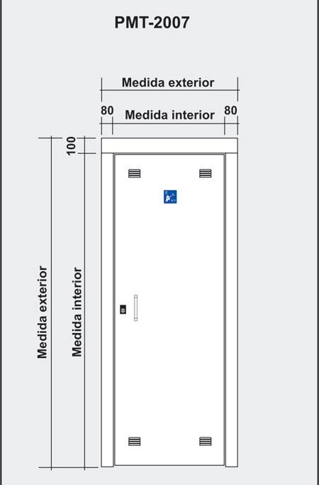 Puertas de paso para registros principales de for Medidas puertas interior